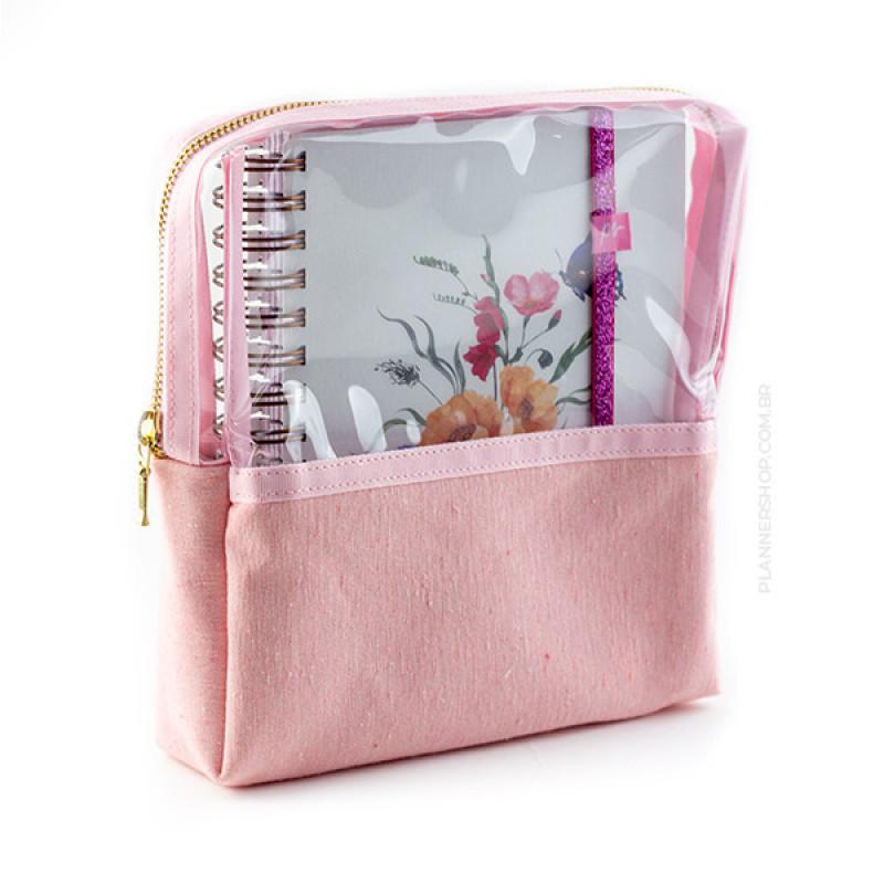 Case para Mini Planner - Pretty Rose