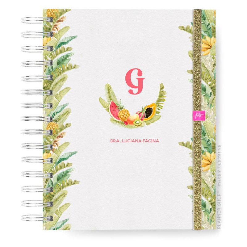 Caderno Infinity  Mini - Tropical Life