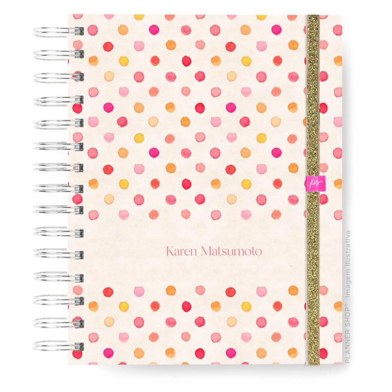 Mini Planner - Pink Dots 2022