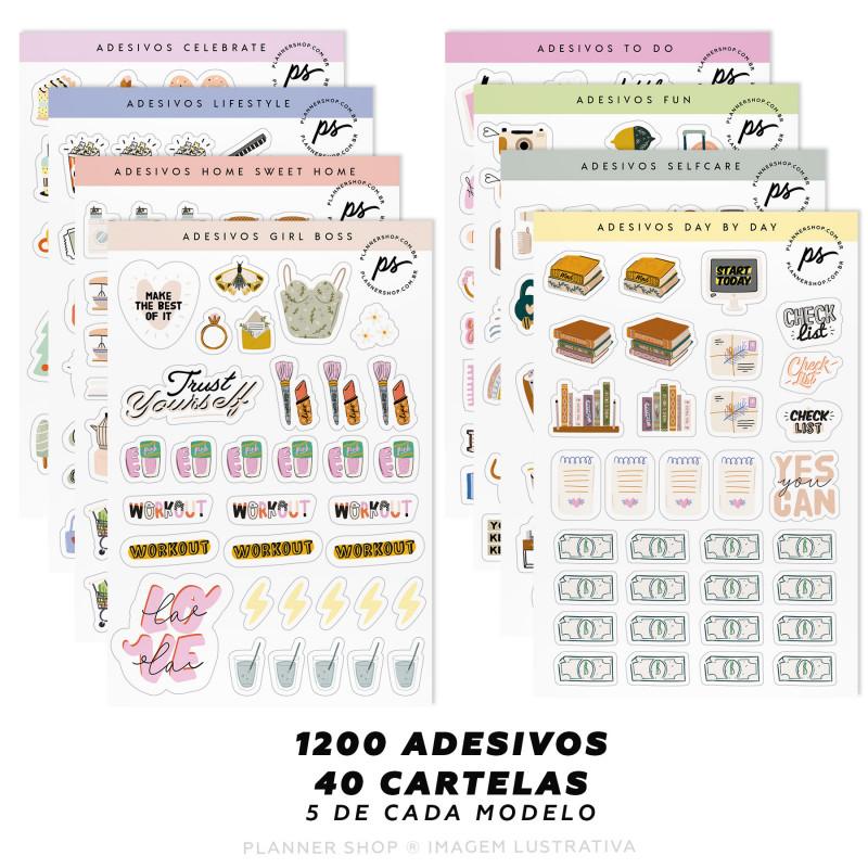 Super Kit de Adesivos - Make Plans