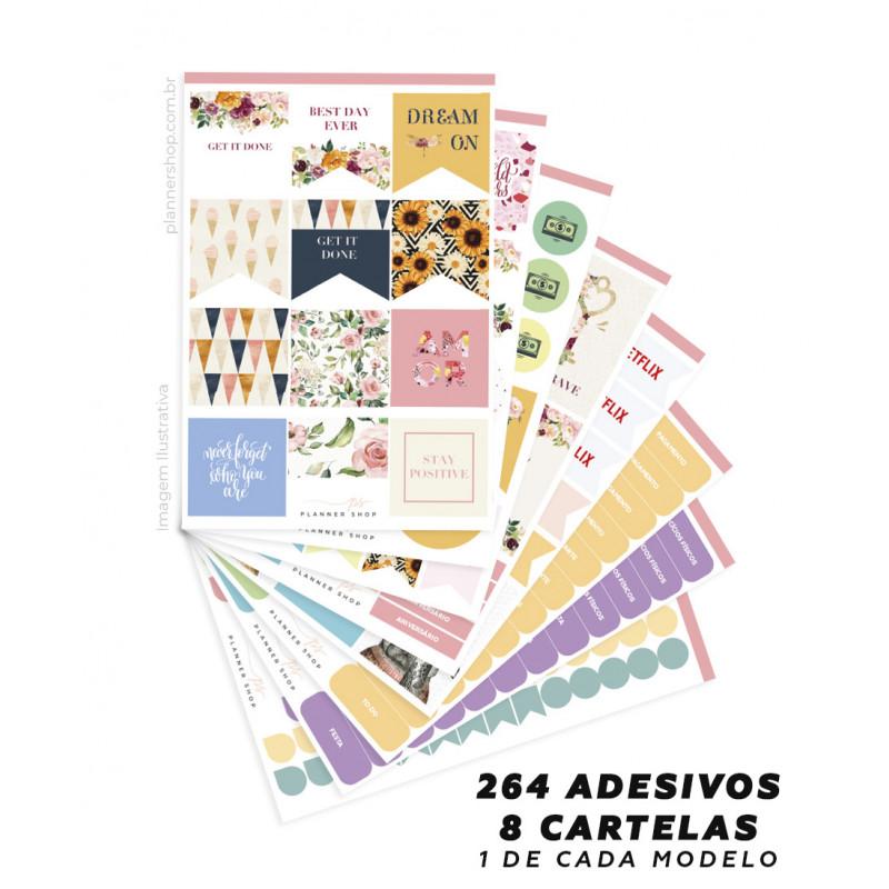 Kit de Adesivos - Lovely