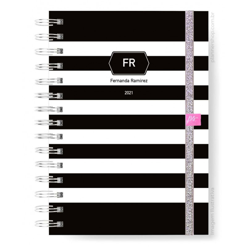 Easy Planner - Black Stripes Classic