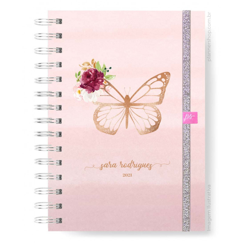 Easy Planner - Blush Butterfly