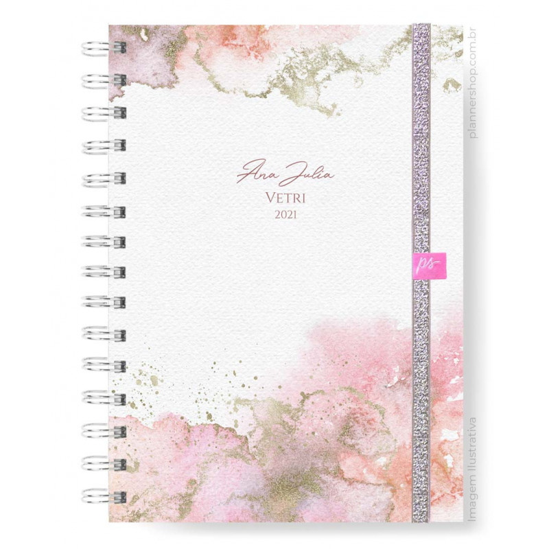Planner Mensal - Cosmic Rose