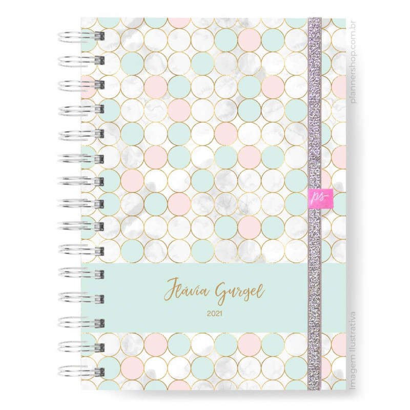 Easy Planner - Gold Dots