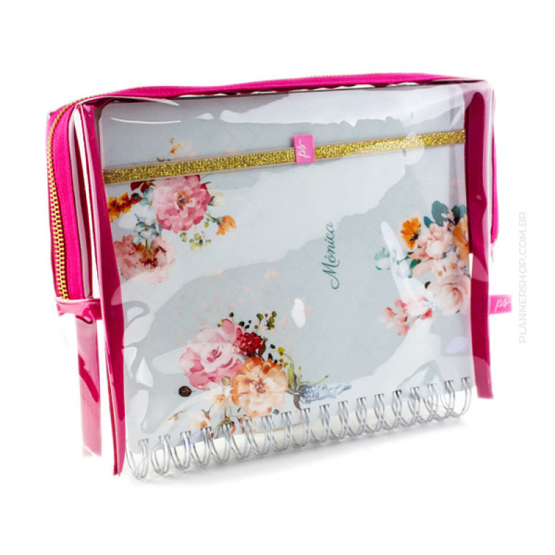 Case para Master Planner - Pink Cherry Cristal