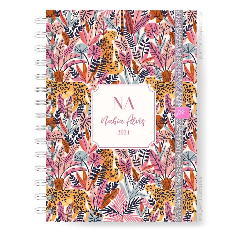 Planner Mensal - Pink Wild