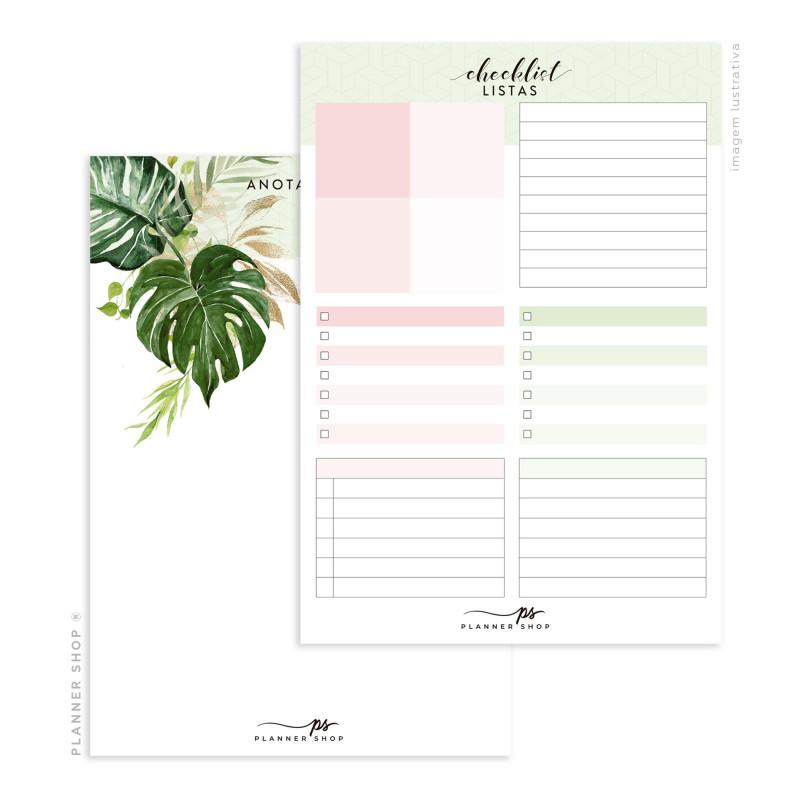 Bloco de Checklist/Anotação