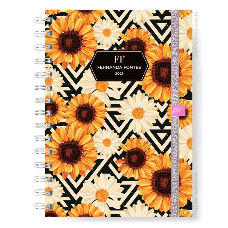 Planner Mensal - Sunflower