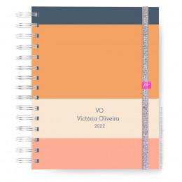 Caderno Infinity  Master - Orange Line