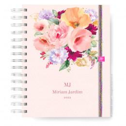Caderno Infinity  Mini - Delicate Flower