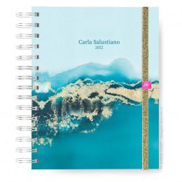 Caderno Infinity  Mini - Azure Flow