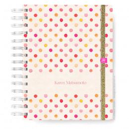 Caderno Infinity  Mini - Pink Dots