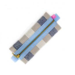 Estojo - Blue Stripes Slim