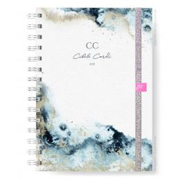 Planner Mensal - Cosmic Blue