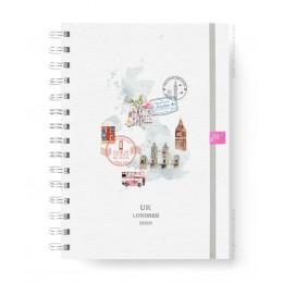 Planner de Viagem - UK