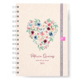 Planner Mensal - Luck Garden Heart