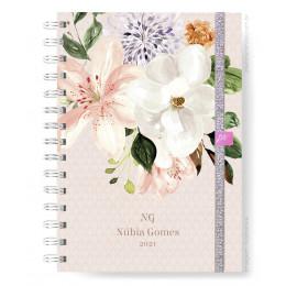 Planner Mensal - Soft Flower