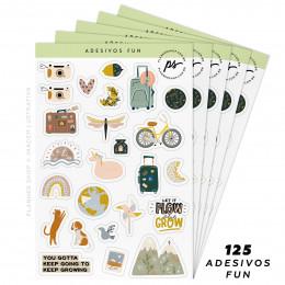 Kit de Adesivos - Fun