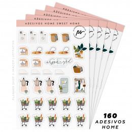 Kit de Adesivos - Home Sweet Home
