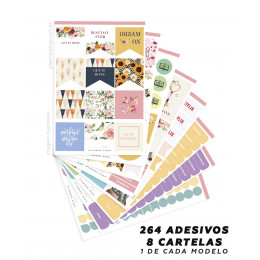 Kit de Adesivos - Lovely