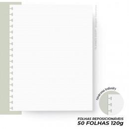 Refil Infinity Branco 120g - Master