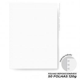 Refil Infinity Branco 120g - Mini