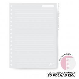 Miolo Linhas Brancas 120g - Mini