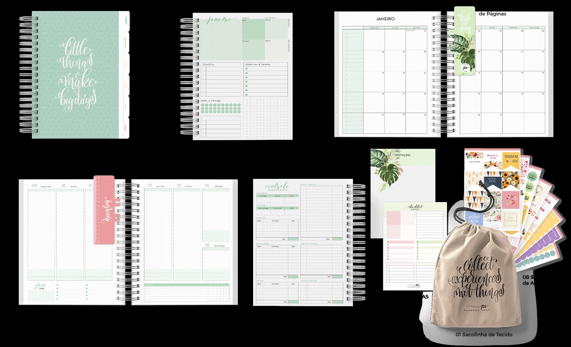 Planner Shop - Planner 2020